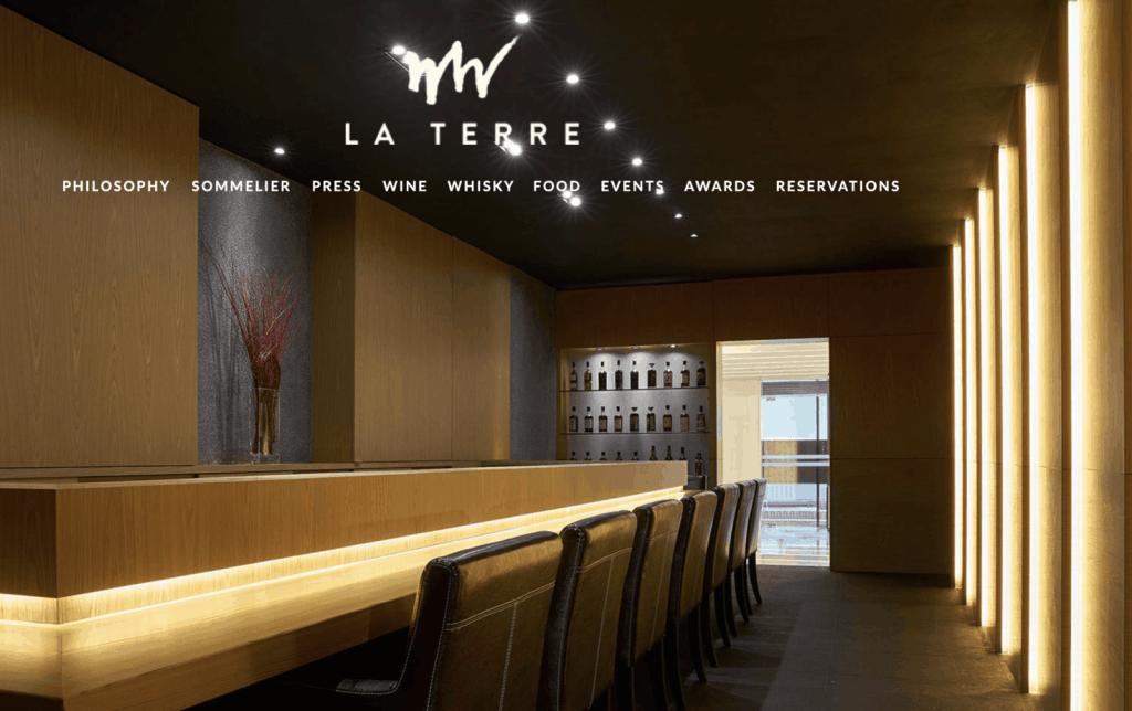 Best Wine Bar Singapore - La Terre