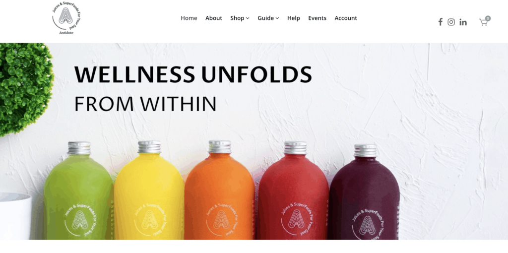 Best fruit juice -  Antidote