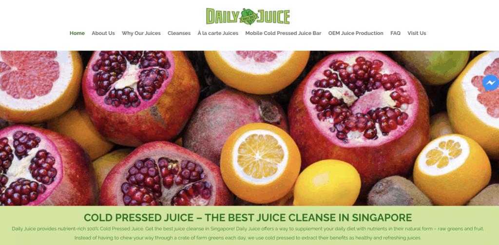 Best fruit juice - Daily Juice