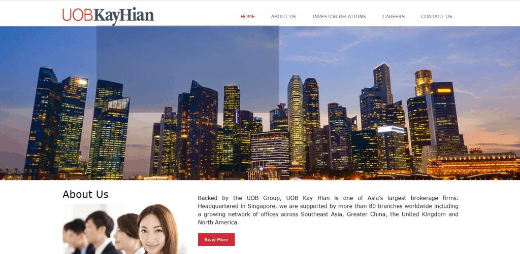 UOB Kay Hian best online trading platforms in Singapore