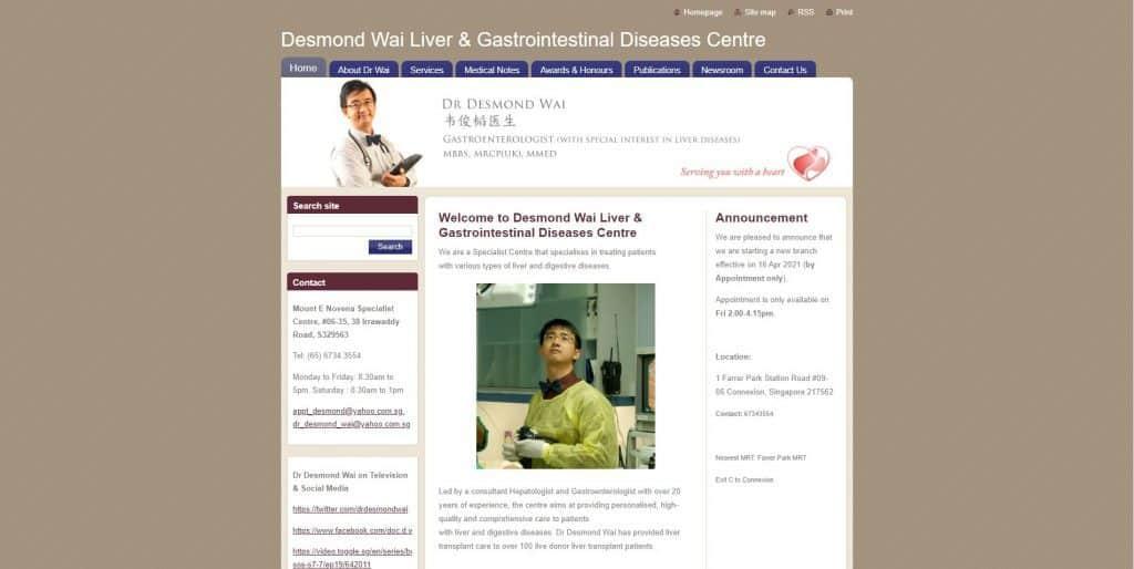 best gastroenterologist in singapore_dr wai clinic