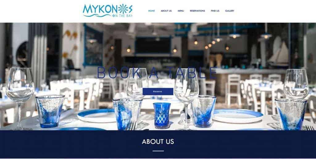 best greek restaurant in singapore_mykonos on the bay