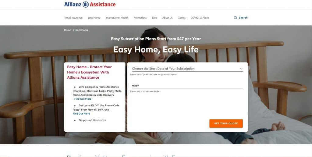 best home insurance in singapore_allianz easy home