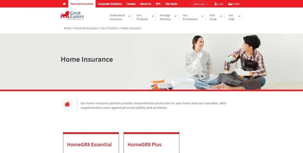 best home insurance in singapore_great eastern homegr8