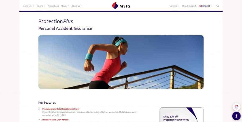 best personal accident insurance in singapore_msig protection plus