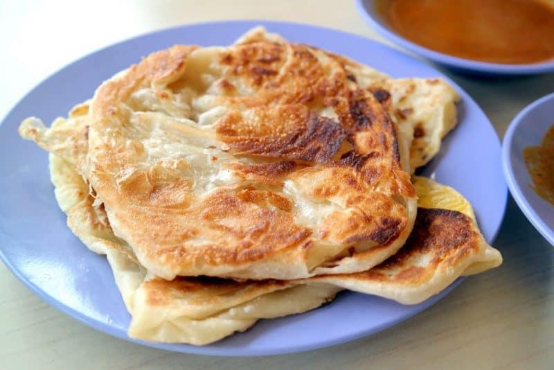 best prata in singapore_mr and mrs mohgan's super crispy roti prata