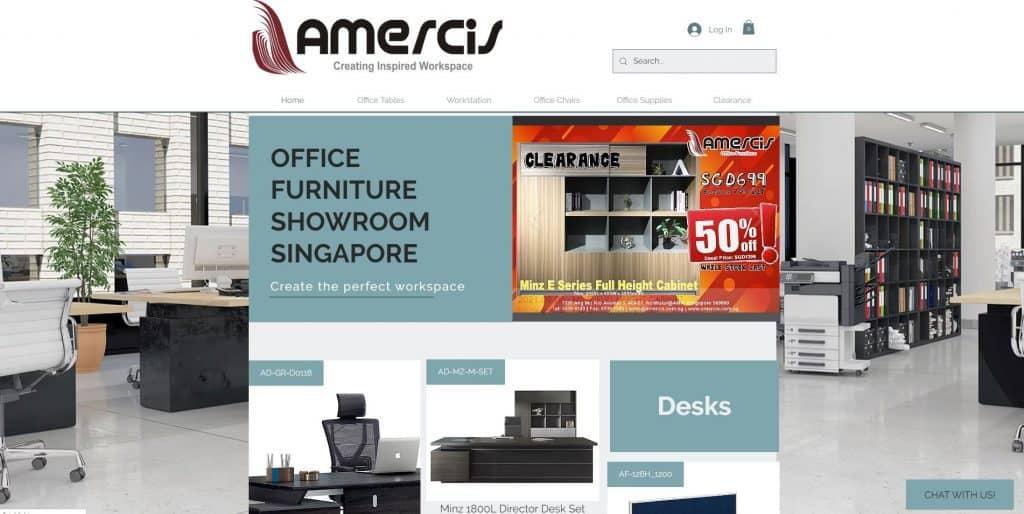 best standing desk in singapore_amercis