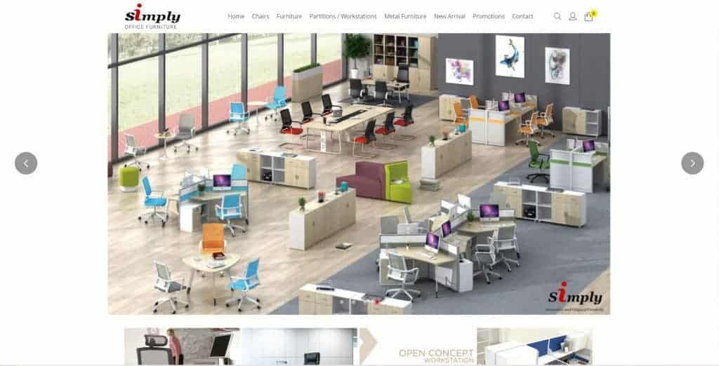 best standing desk in singapore_simply office furniture