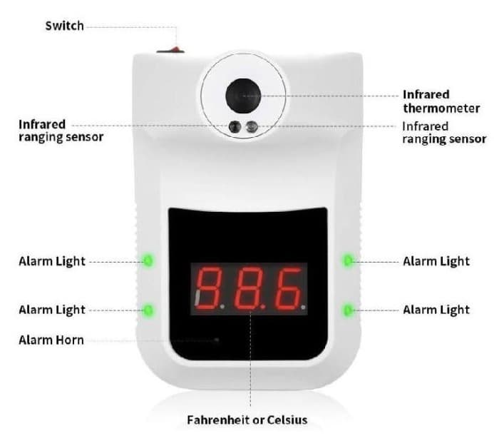 best thermal scanner in singapore