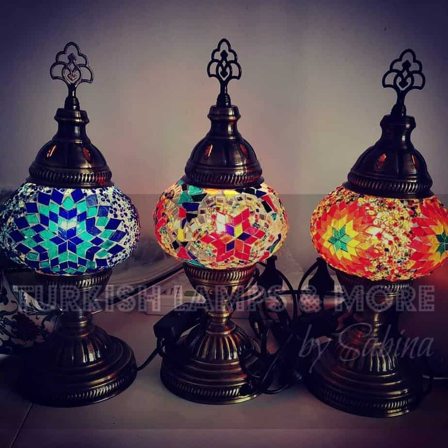 Best Table Lamp in Singapore (Turkish Lamps & More by Sabina)