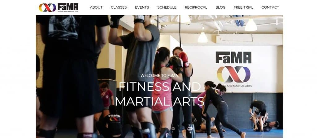 best muay thai gym in singapore_fama