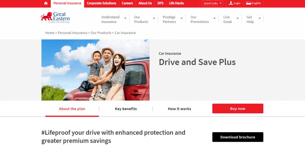 GE car insurance in singapore