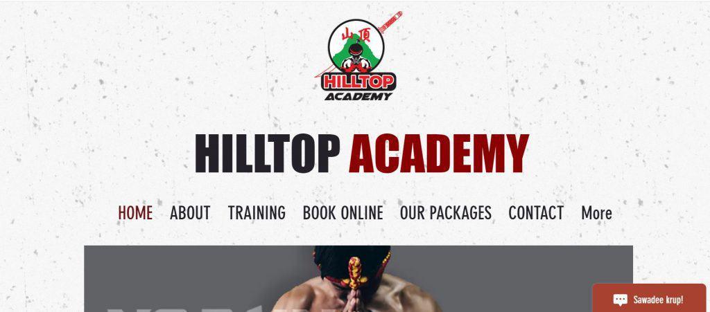 best muay thai gym in singapore_hilltop academy