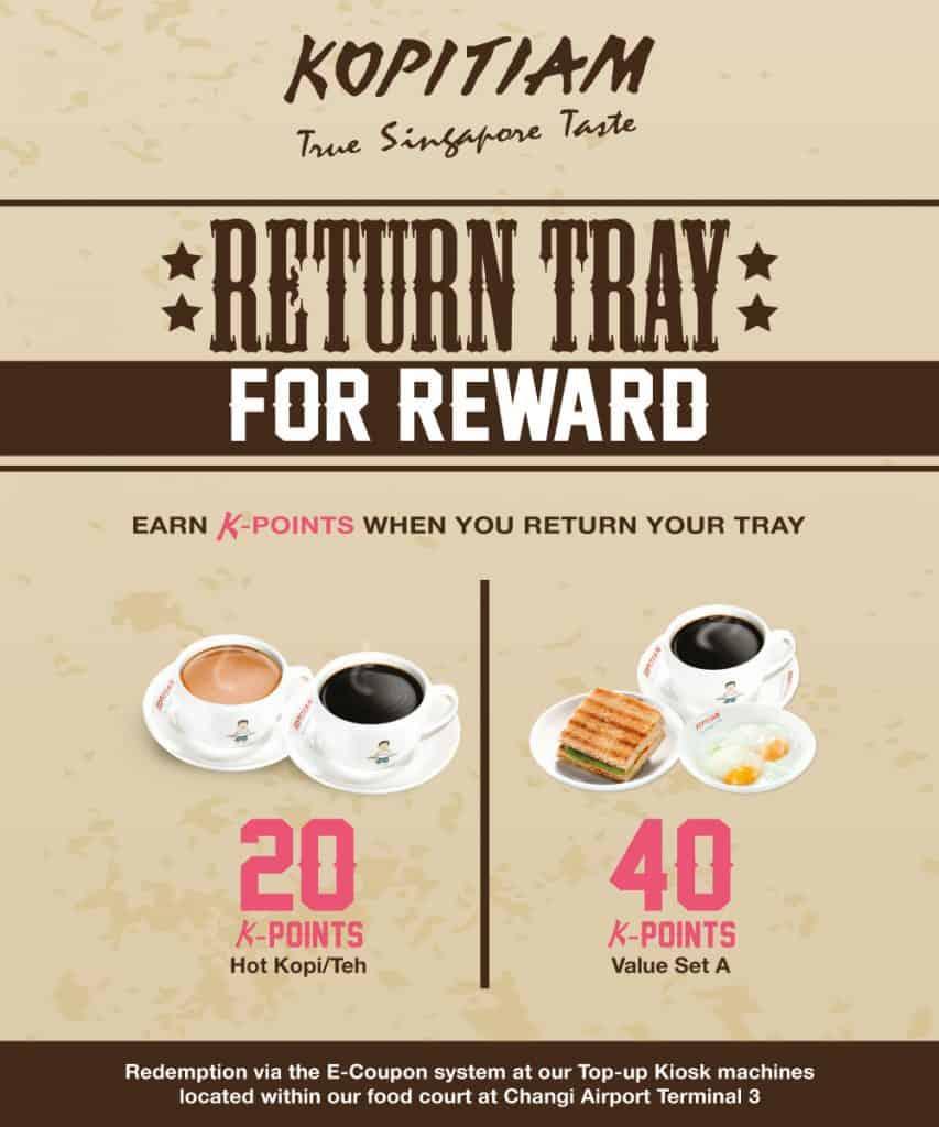 kopitiam return tray for reward