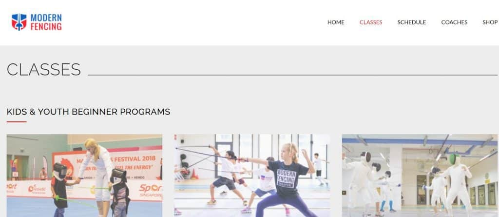 best fencing in singapore_modern fencing academy