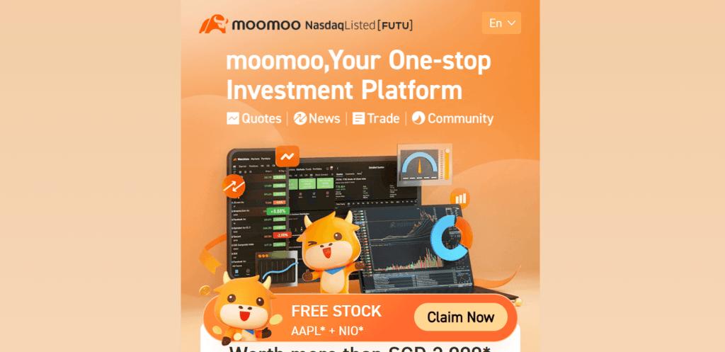 moomoo best online trading platforms in Singapore