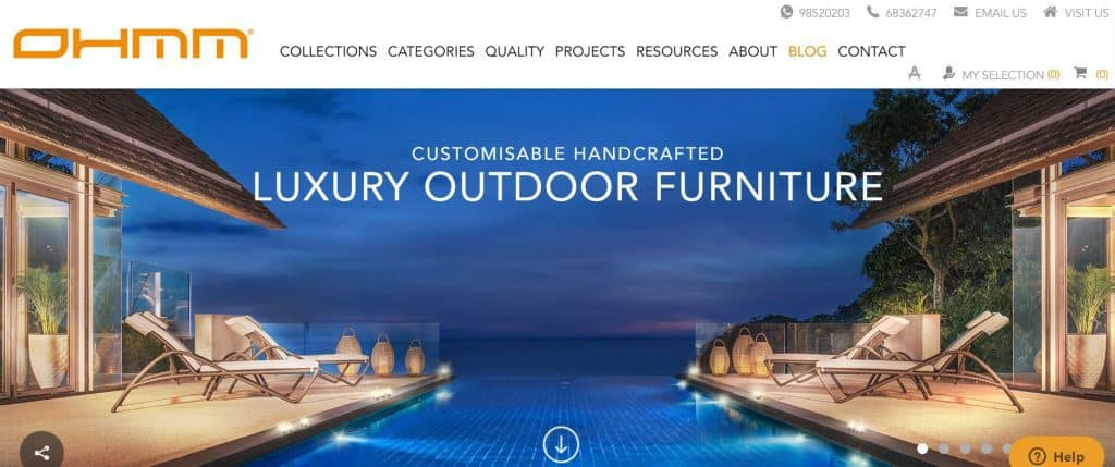 best outdoor furniture in singapore_ohmm