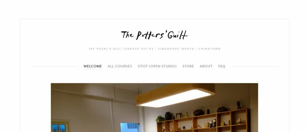 best pottery class in singapore_the potters' guilt
