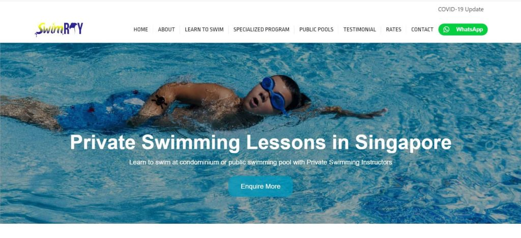 best swimming coaches in singapore