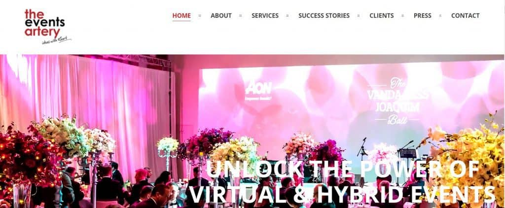 best event planner in singapore_the events artery