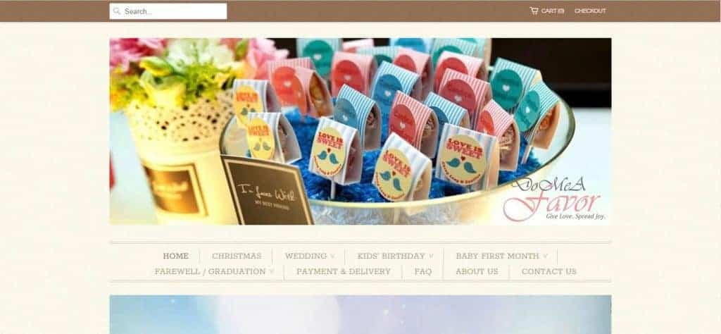 10 best ideas for wedding favours in singapore
