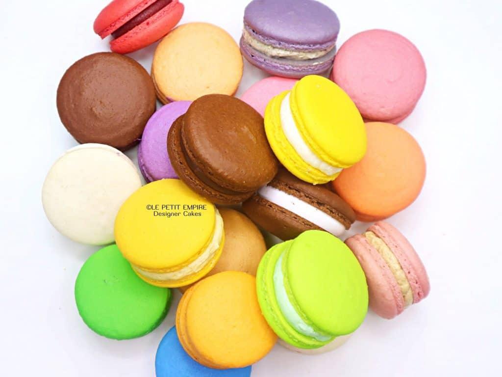 Best Macaron in Singapore (Le Petit Empire DESIGNER CAKES Singapore 小王国品牌蛋糕店)