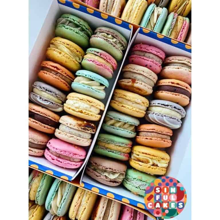 Best Macaron in Singapore (Sinful Cakes)