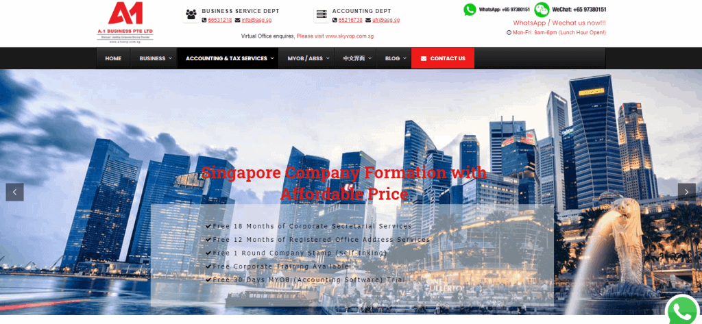 A1-Business accounting services in singapore