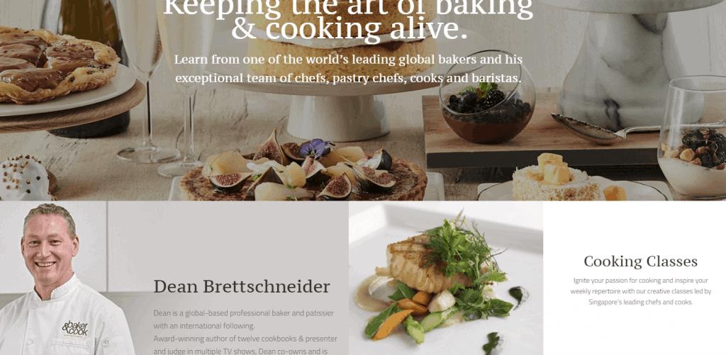 Dean-Brettschneider cooking classes in singapore