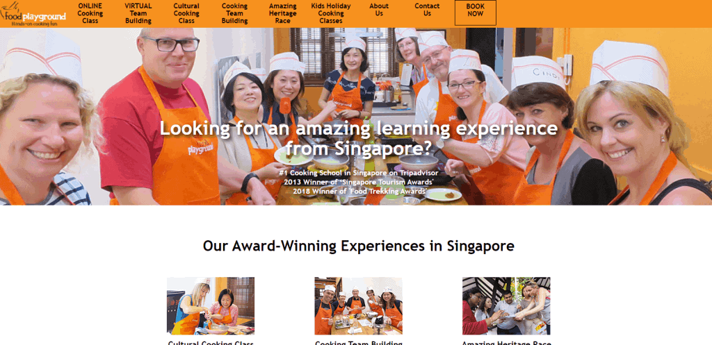 Food-Playground cooking classes in singapore