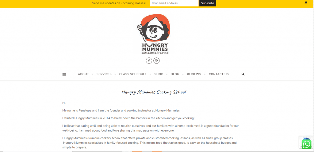 Hungry-Mummies cooking classes in singapore