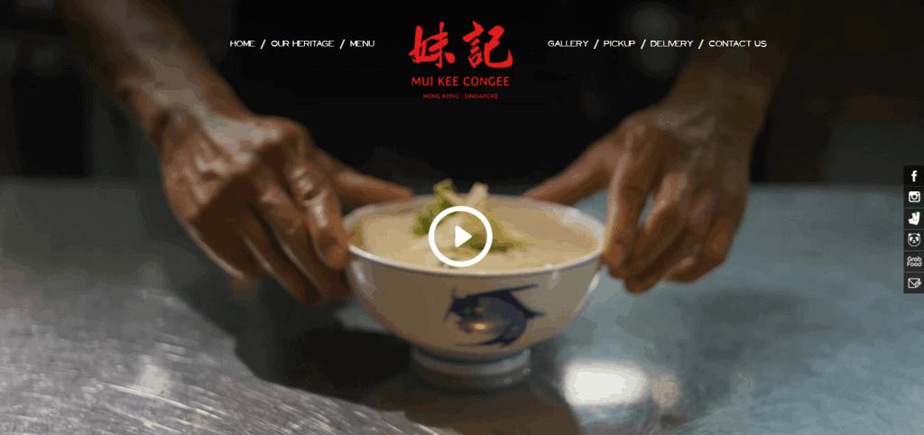 Mui-Kee-Congee hong kong food in singapore