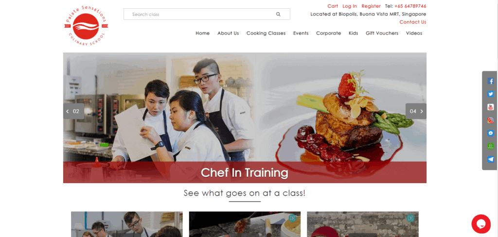 Palate-Sensations-Culinary-School cooking classes in singapore