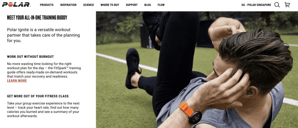 Best Smart Watches Singapore - Polar Ignite