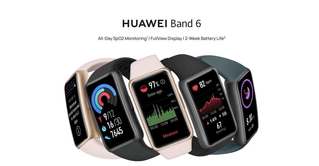 Best Smart Watches Singapore - Huawei Band 6