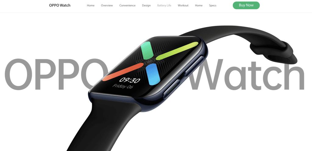 Best Smart Watches Singapore - Oppo Watch