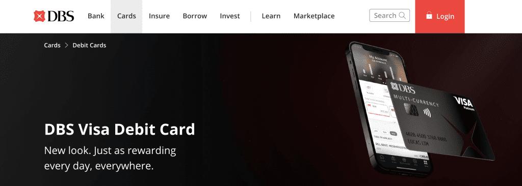 Best Debit Card - DBS Visa