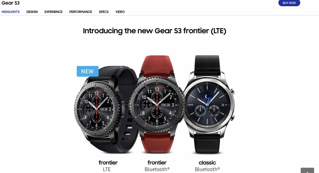 Best Smart Watches Singapore - Samsung Gear S3 Frontier