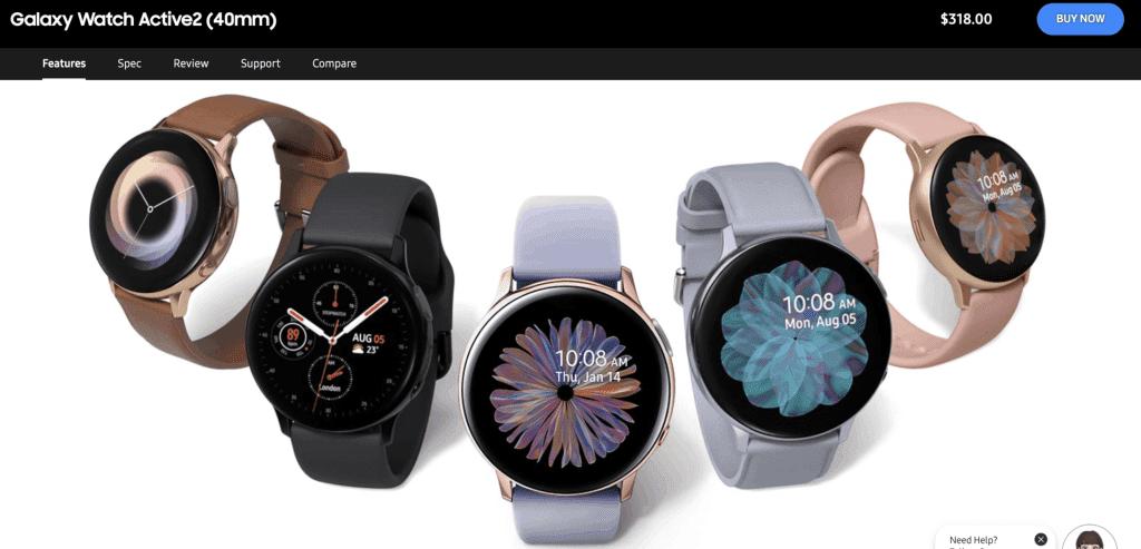 Best Smart Watches Singapore - Samsung Galaxy