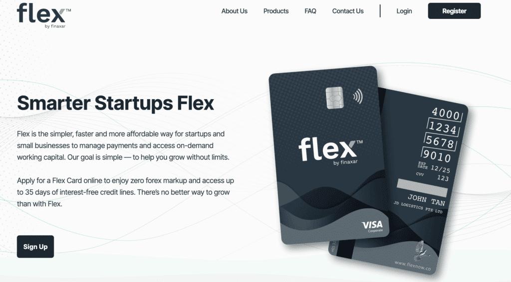 Business Credit Card - Finaxar Flex Visa Card
