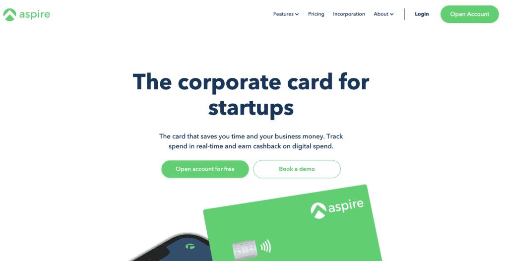 Business Credit Card - Aspire Visa Corporate Card