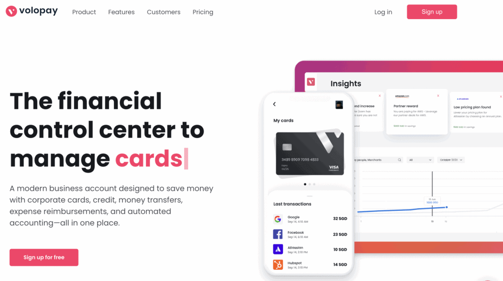 Business Credit Card - Volopay Corporate Card