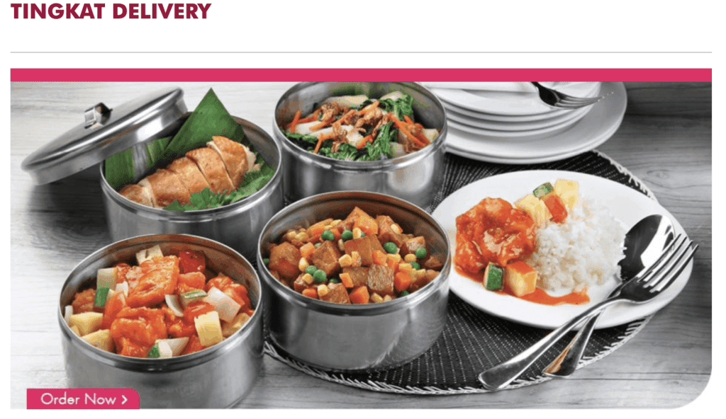 Tingkat Delivery - Select Catering