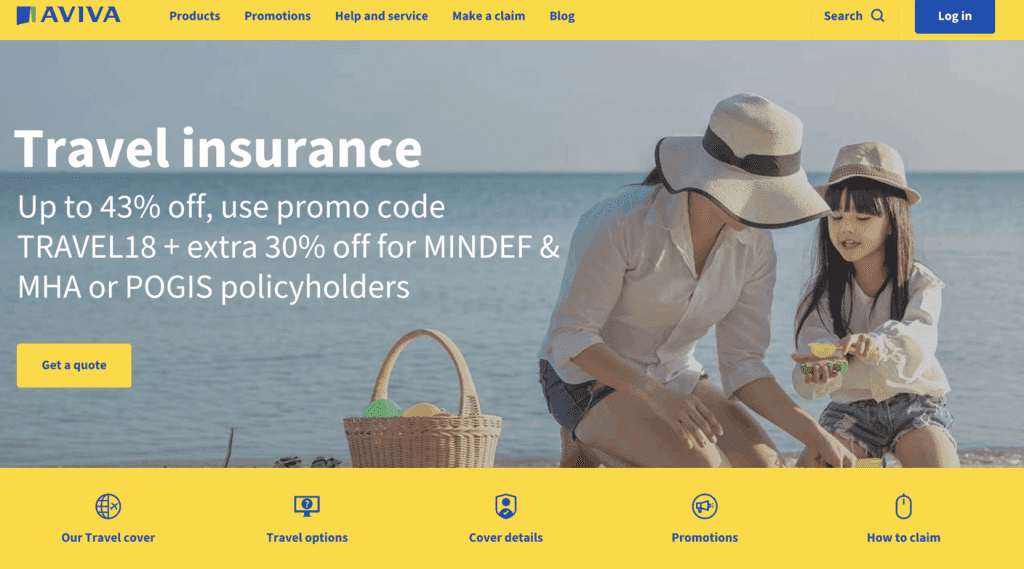 Cruise Insurance Singapore - Aviva Travel Insurance