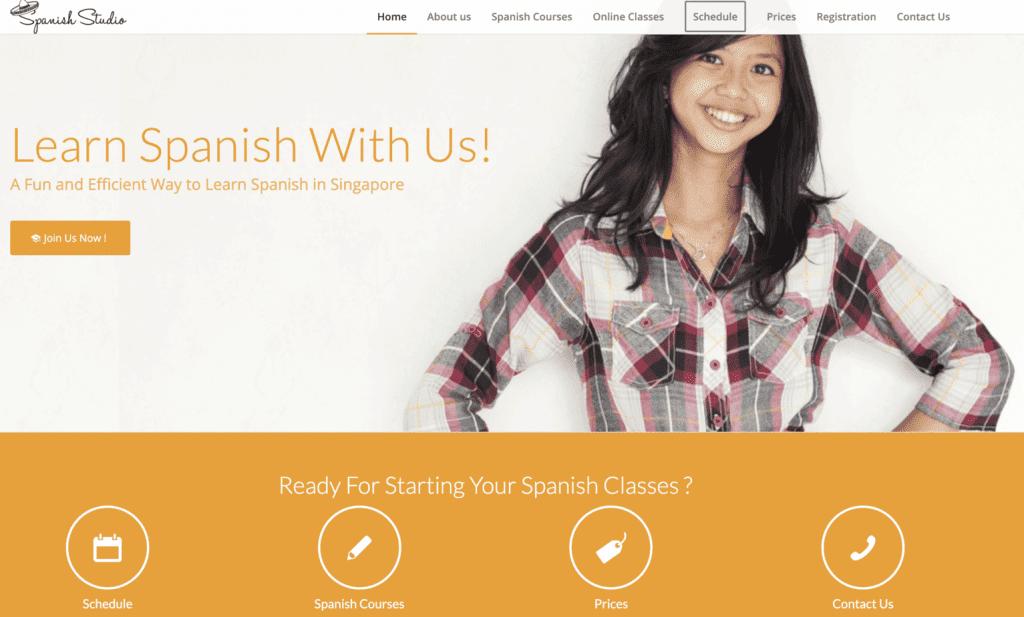 Spanish Lessons in Singapore - Spanish Studio
