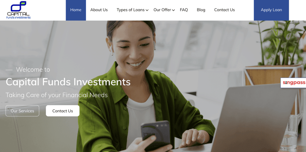 Debt consolidation loan Singapore - Capital Fund Investments