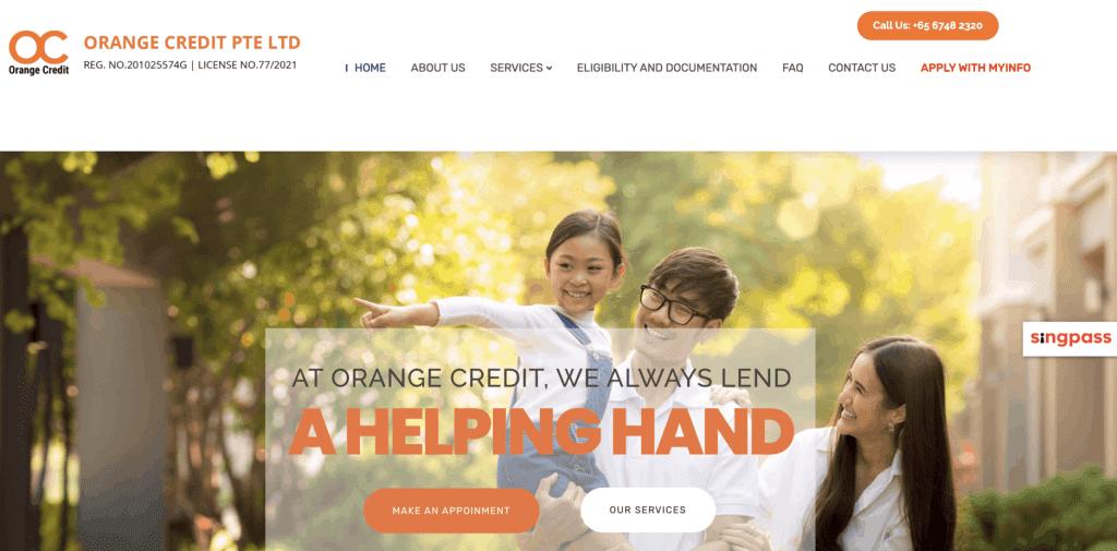 Debt consolidation loan Singapore - Orange Credit