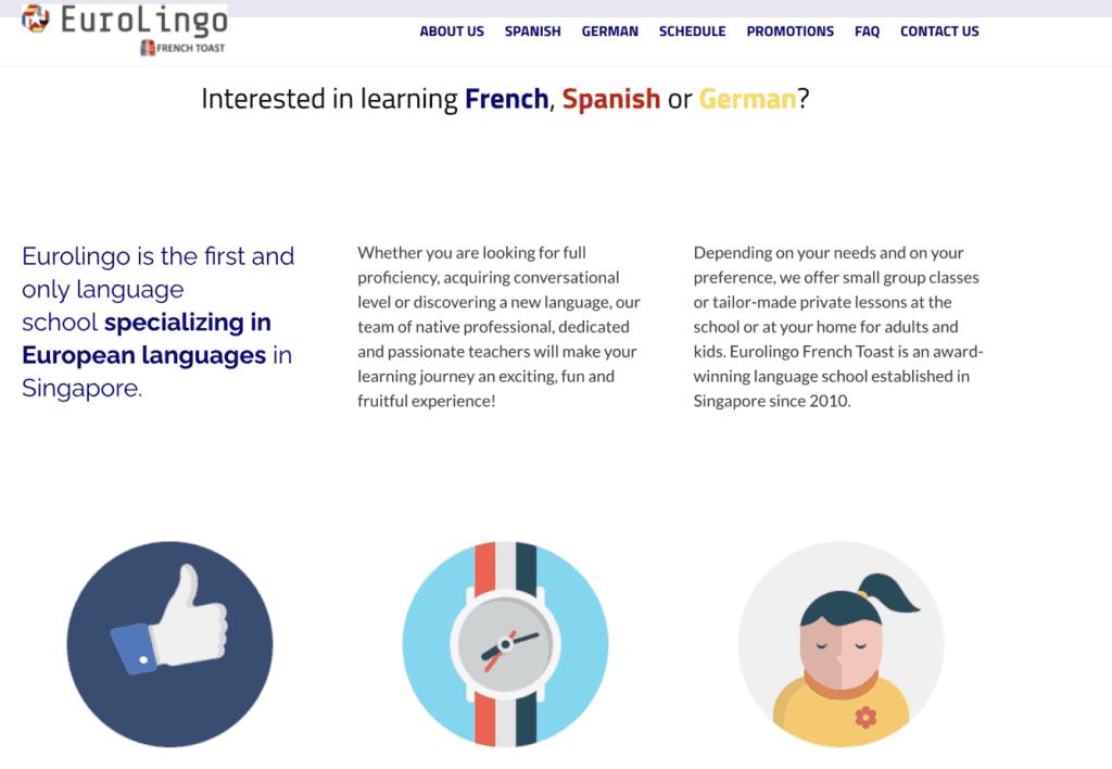 Spanish Lessons in Singapore - EuroLingo