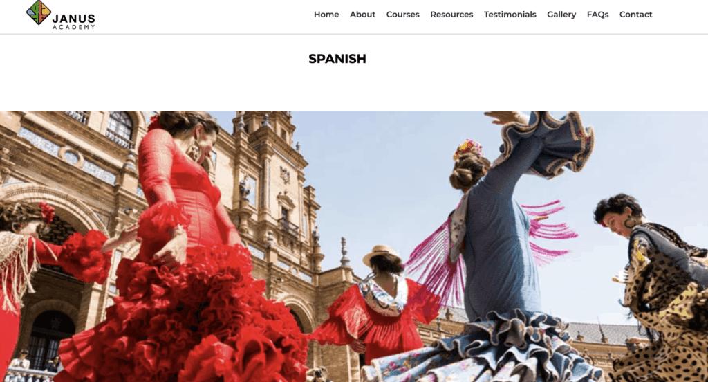 Spanish Lessons in Singapore - Janus Academy