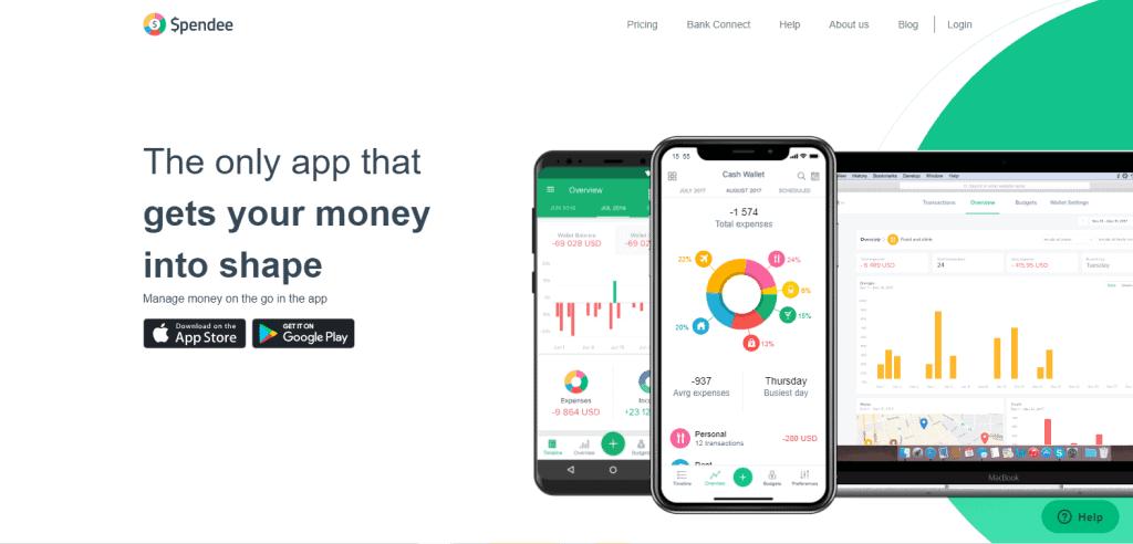 Spendee expense tracker app in singapore